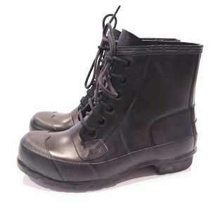 Hunter Original Waterproof Lace-Up Boot size 8